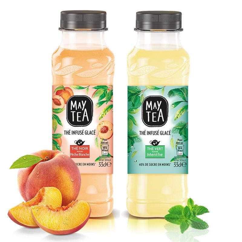 Maytea Maytea, boisson à base de thé - 33 cl 2 parfums disponibles.