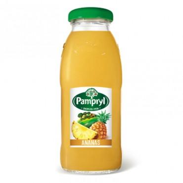 Jus de fruits Pampryl Jus de fruits Pampryl - 25cl saveurs disponible : Ananas et Orange.