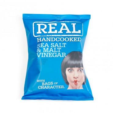 Chips anglaises REAL Chips anglaises REAL - Sachet 35g