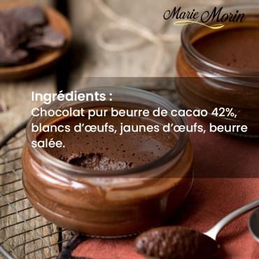 Mousse au chocolat Marie Morin Mousse au chocolat en pot - 100 gr