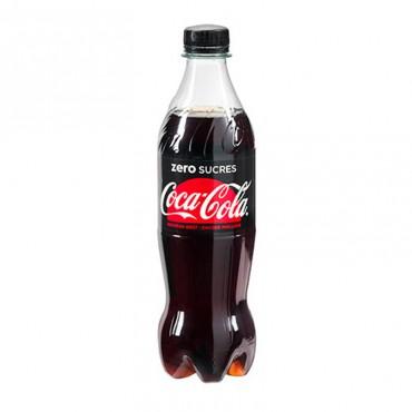 Coca-Cola Zéro Coca-Cola Zéro - Bouteille de 50cl