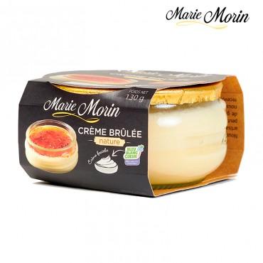Crème brûlée nature Marie Morin Crème brûlée nature Marie Morin - Pot 130g.